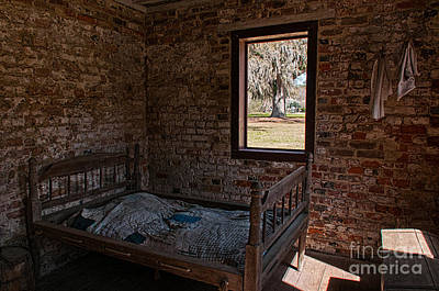 Photograph - Slave Quarters by Sharon Seaward