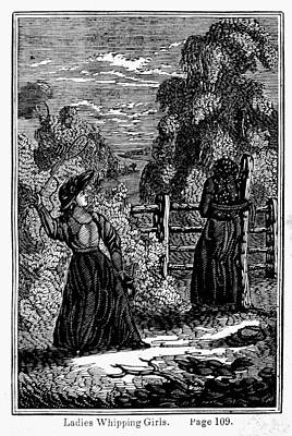 Slavery Whipping, 1834 Art Print