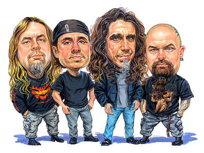 Slayer Print by Art