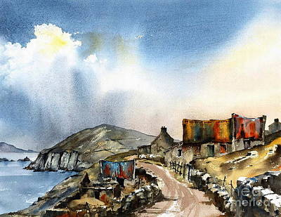 Painting - Slea Head Dingle Kerry by Val Byrne