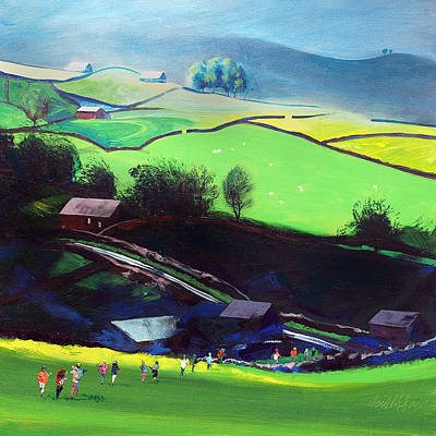 Sleddale Yorkshire Uk Art Print