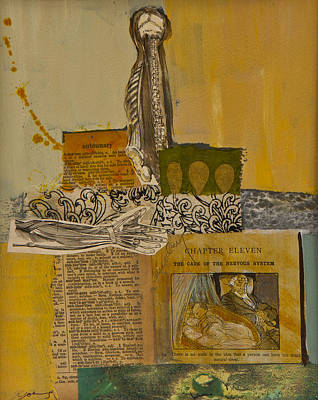 Mixed Media - Sleep by Jillian Goldberg