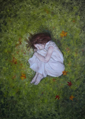 Painting - Sleep by Junko Van Norman