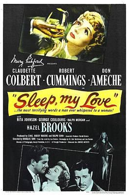 Sleep, My Love, Us Poster, Bottom Print by Everett