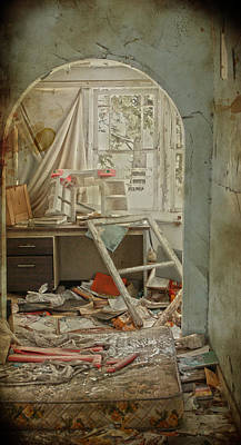 Abandoned Houses Photograph - Sleep Overs  by Jerry Cordeiro