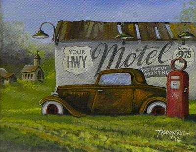 Low Rider Painting - Sleep Tight by Whitey Thompson