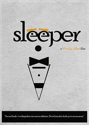 Woody Allen Digital Art - Sleeper by Ayse and Deniz