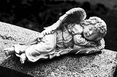 Photograph - Sleeping Angel by John Rizzuto