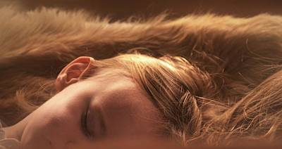 Photograph - Sleeping Angel by Nadalyn Larsen