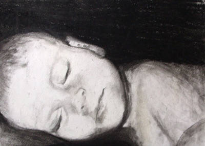 Drawing - Sleeping by Angela Stout