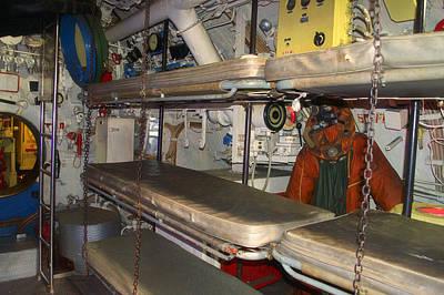 Sleeping Area Russian Submarine Art Print