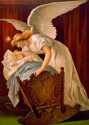 Baby Jesus Digital Art - Sleeping Baby by Munir Alawi