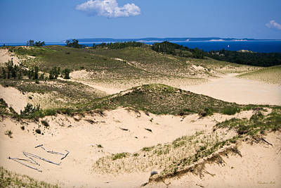 Photograph - Sleeping Bear Dunes by Christina Rollo