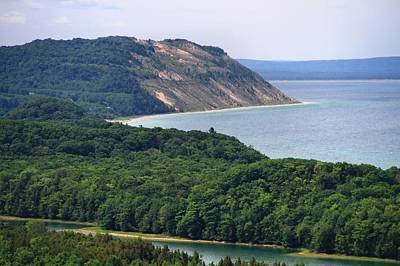 Photograph - Sleeping Bear Dunes Vista by Dan Sproul