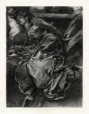 Britten Drawing - Sleeping Beauty by Celestial Images