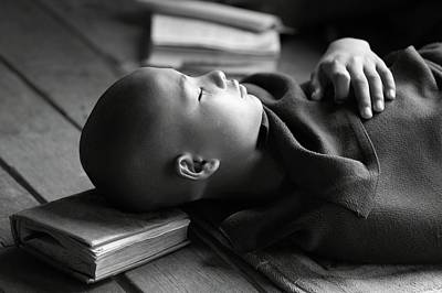 Documentary Photograph - Sleeping Buddha by Walde Jansky