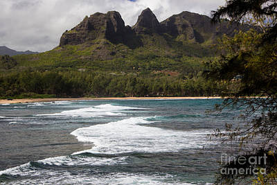 Photograph - Sleeping Giant Anahola by Suzanne Luft