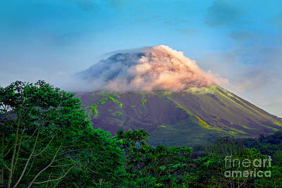 Arenal Photograph - Sleeping Giant by Gary Keesler