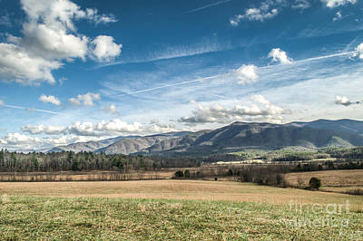 Art Print featuring the photograph Sleeping Giants In Cades Cove by Debbie Green