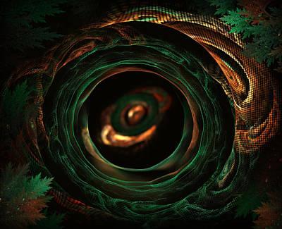 Sleeping Snake Art Print by Radoslav Nedelchev