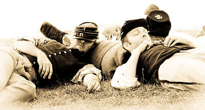 Photograph - Sleeping Soldiers by Athena Mckinzie