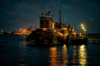 Photograph - Sleeping Tugs by Denis Lemay