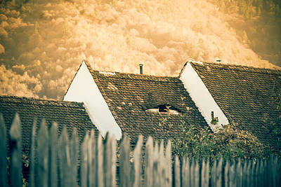 Old House Photograph - Sleepless Cyclop by Mihai Ilie