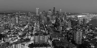 Photograph - Sleepless In Seattle Black And White by Heidi Smith