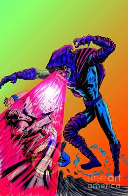 Area 613 Comics Drawing - Sleepwalker 1d by Justin Moore