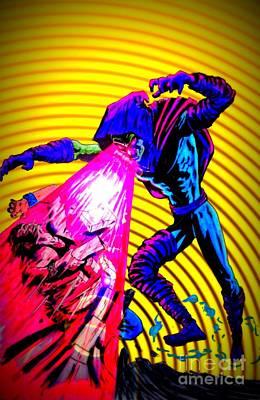 Sleepwalker 1k Art Print by Justin Moore