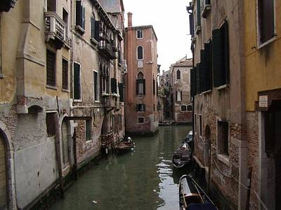 Photograph - Sleepy Afternoon In Venice by Charlayne Grenci