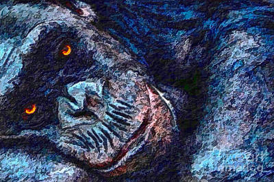 Art Print featuring the photograph Sleepy Head by Adam Olsen