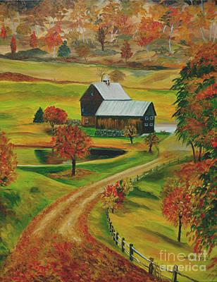 Sleepy Hollow Farm Art Print
