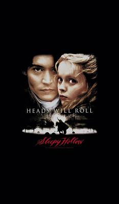 Johnny Depp Digital Art - Sleepy Hollow - Heads Will Roll by Brand A