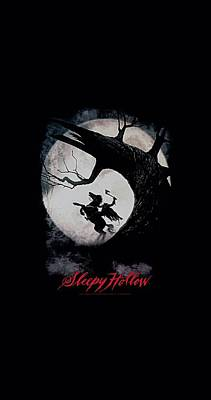 Johnny Depp Digital Art - Sleepy Hollow - Poster by Brand A