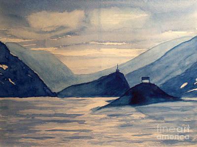 Painting - Sleepy Waters by Tim Longwell