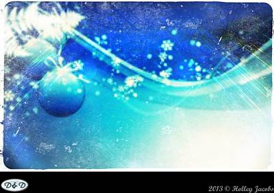 Digital Art - Sleigh Ride by Holley Jacobs