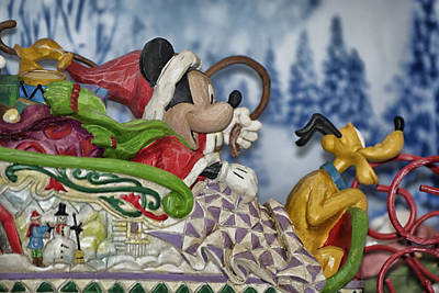Sleigh Riding Art Print by Thomas Woolworth