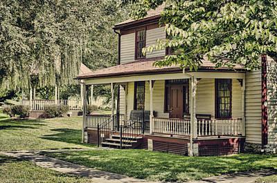 Photograph - Slemons House by Heather Applegate