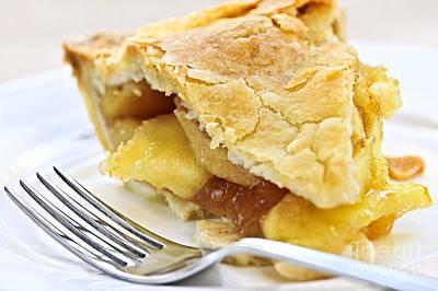 Apples Photograph - Slice Of Apple Pie by Elena Elisseeva