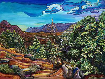Painting - Slice Of The Salt River by Alexandria Winslow