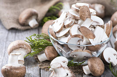 Crazy Cartoon Creatures - Sliced Mushrooms by Handmade Pictures