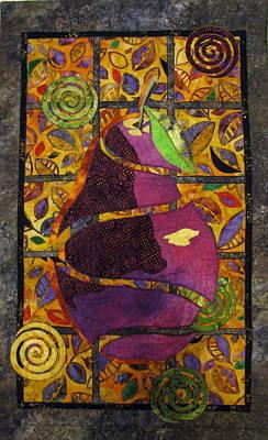 Sliced Pear Print by Lynda K Boardman