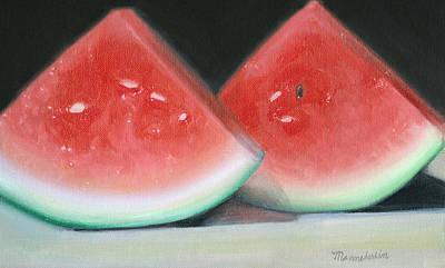 Slices Of Summer Art Print