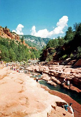 Photograph - Slide Rock State Park by Connie Fox