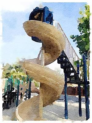Digital Art - Slide by Shannon Grissom