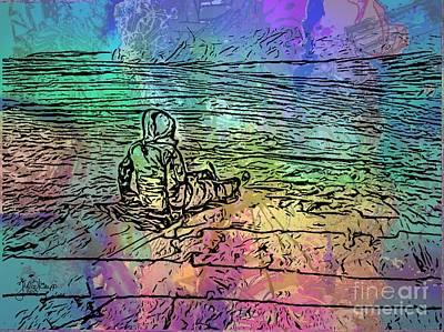 Sliding Into The Cosmos 20150204 Art Print