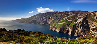 Slieve League Photograph - Slieve League Cliffs In Donegal - Ireland by Barry O Carroll