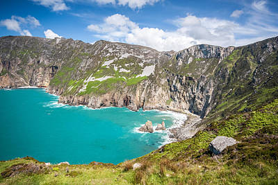 Slieve League Photograph - Slieve League In Donegal Ireland by Pierre Leclerc Photography