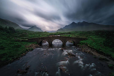 Scottish Highlands Wall Art - Photograph - Sligachan Storm. by Juan Pablo De